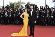 "Justin Timberlake and Anna Kendrick attend the ""Cafe Society"" premiere and the Opening Night Gala during the 69th annual Cannes Film Festival at the Palais des Festivals on May 11, 2016 in Cannes, France."