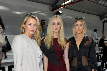 Caggie Dunlop Front Row & Arrivals: Day 1 - LFW SS16