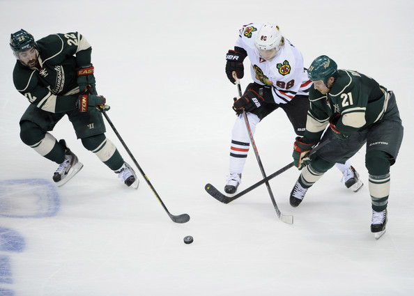 Chicago Blackhawks v Minnesota Wild - Game Three