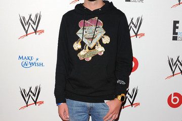 Caleb Arrivals at WWE's 'Superstars for Hope' Event