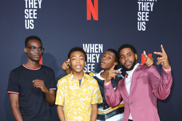Caleel Harris Ethan Herisse FYC Event For Netflix's 'When They See Us' - Arrivals