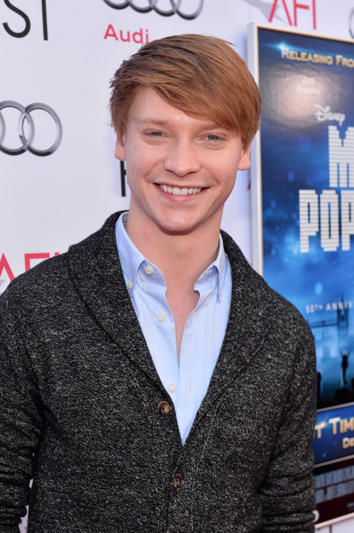 "Calum Worthy - AFI FEST 2013 Presented By Audi 50th Anniversary Commemoration Screening Of Disney's ""Mary Poppins"" - Red Carpet"