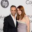 Julianne Moore and Francisco Costa