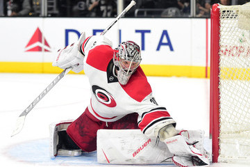 Cam Ward Carolina Hurricanes v Los Angeles Kings