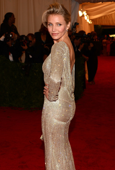 "Cameron Diaz - NY: ""Schiaparelli And Prada: Impossible Conversations"" Costume Institute Gala"