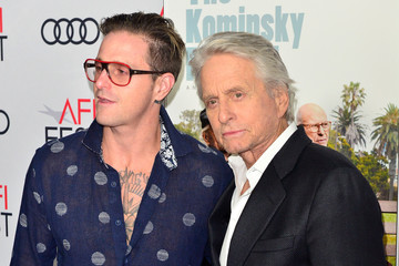 Cameron Douglas AFI FEST 2018 Presented By Audi - Gala Screening Of 'The Kominsky Method' - Arrivals