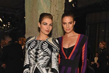 Cameron Russell BALMAIN X H&M Collection Launch - Front Row
