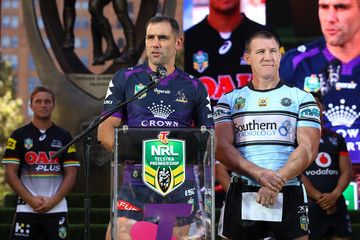 Cameron Smith 2017 NRL Season Launch