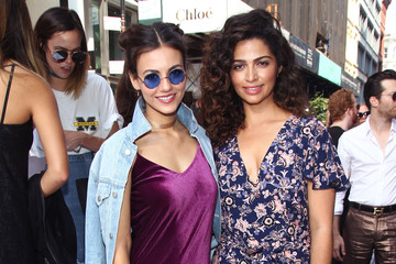 Camila Alves TRESemme at Rebecca Minkoff September 2016 - New York Fashion Week: The Shows
