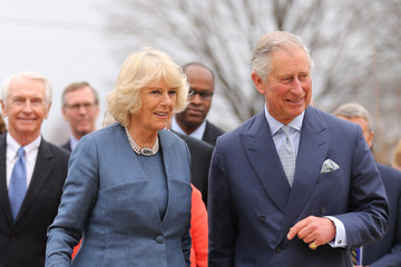 Camilla Parker Bowles Prince Charles Visits Louisville, Kentucky