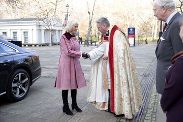 Camilla Parker Bowles Camilla, Duchess of Cornwall Attends  Animal Welfare Charity Event At Guards Chapel