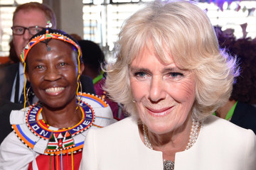 Camilla Parker Bowles CHOGM London 2018 - Day 2