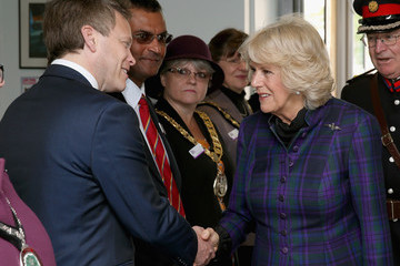 Camilla Parker Bowles The Duchess of Cornwall Visits The Queen Mother Hospital For Small Animals