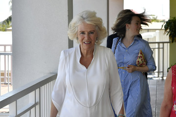 Camilla Parker Bowles The Prince Of Wales And Duchess Of Cornwall Visit The Cayman Islands