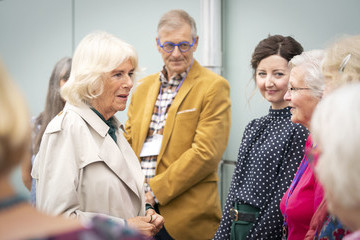 Camilla Parker Bowles The Duke And The Duchess Of Rothesay Visit Scotland