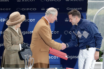 Camilla Parker Bowles PCF Racing Weekend and Shopping Fair at Ascot Racecourse