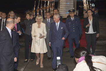 Camilla Parker Bowles Prince Charles Visit Colombia: Day 1