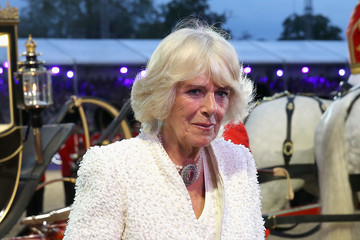 Camilla Parker Bowles The Queens 90th Birthday Celebrations at Windsor - Final Night