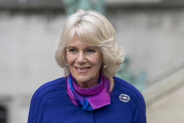 Camilla Parker Bowles The Duchess of Cornwall Visits Sussex Modernism Exhibition