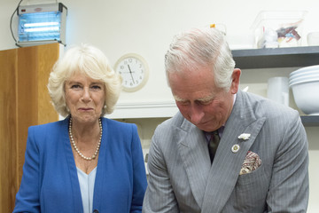 Camilla Parker Bowles Prince Of Wales & Duchess Of Cornwall's Annual Summer Visit To Wales
