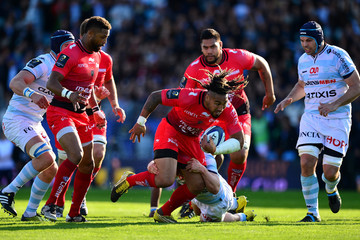 Camille Chat Racing 92 v RC Toulon - European Rugby Champions Cup Quarter Final