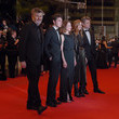 Camille Cottin 'Diego Maradona' Red Carpet - The 72nd Annual Cannes Film Festival