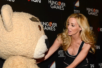 "Camille Grammer Premiere Of Sony Pictures Home Entertainment's ""The Hungover Games"" - Red Carpet"