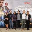 """Camille Japy Premiere Of The Movie """"How Did I Become A Super Hero"""" At Cour Carre Du Louvre"""