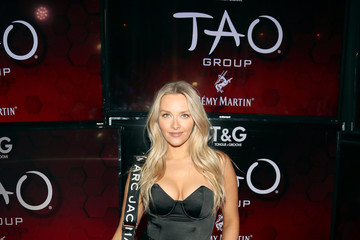 Camille Kostek TAO Group's Big Game Takeover Presented By Tongue & Groove