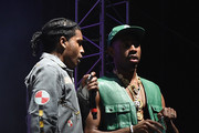 A$AP Rocky and Tyler, The Creator perform on the Camp Stage during day 2 of Camp Flog Gnaw Carnival 2017 at Exposition Park on October 29, 2017 in Los Angeles, California.