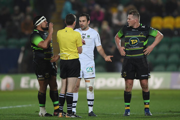 Campese Ma'afu Northampton Saints v ASM Clermont Auvergne -  Champions Cup