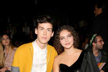 Camren Bicondova John Paul Ataker - Front Row - September 2017 - New York Fashion Week: The Shows