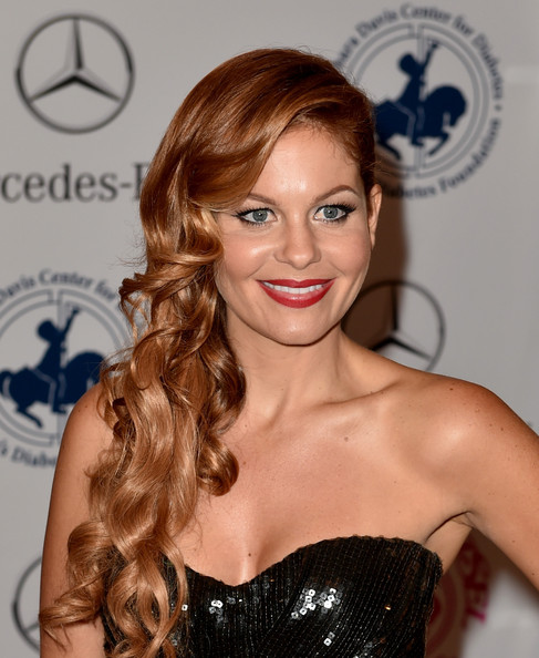 Candace Cameron red hair