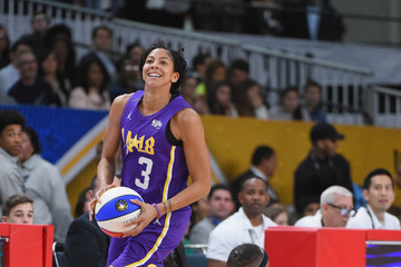 Candace Parker 2018 NBA All-Star Game Celebrity Game