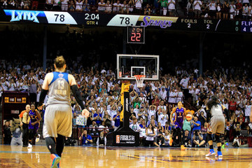 Candace Parker WNBA Finals - Game One