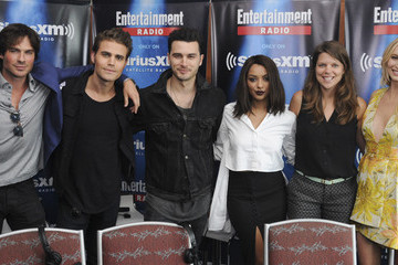 Candice Accola Kat Graham SiriusXM's Entertainment Weekly Radio Channel Broadcasts from Comic-Con 2015