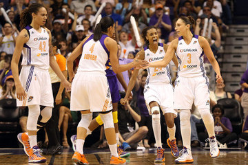 Candice Dupree Los Angeles Sparks v Phoenix Mercury - Game Two