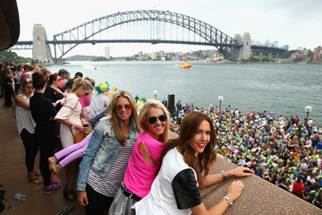 Candice Falzon Australian Ashes Team Celebrations