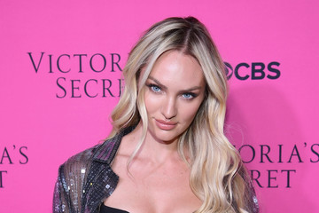 Candice Swanepoel Victoria's Secret Angels Gather to Watch the 2017 Victoria's Secret Fashion Show