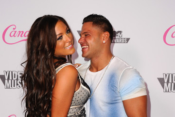 Sammi Giancola  Ronnie Ortiz-Magro Candie's 2011 MTV Video Music Awards After Party - Arrivals