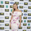 Caprice Bourret Paul Strank Charitable Trust Summer Party - Arrivals
