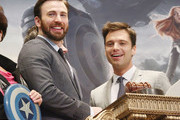 Chris Evans and Sebastian Stan Photos Photo