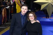 "Writers and directors Ryan Fleck and Anna Boden attend the ""Captain Marvel"" European Gala Premiere held at The Curzon Mayfair on February 27, 2019 in London, England."