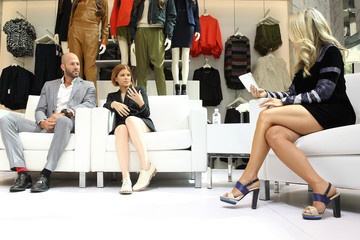 Cara Crowley H&M And Vogue NY Fashion Week Panel Discussion With Kate Mara And Johnny Wujek