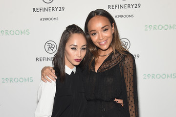 Cara Santana Ashley Madekwe Refinery29 Presents 29Rooms, a Celebration of Style and Culture During NYFW 2015