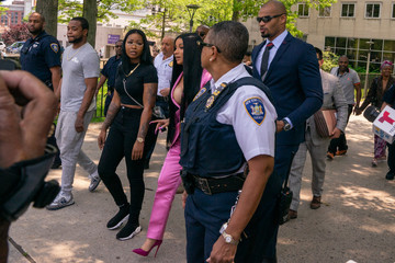 Cardi B Cardi B Arrives At Court For First Day Of Trial Addressing Misdemeanor Assault Charge
