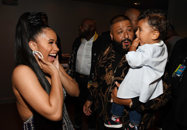 Image result for cardi b , khaled and asahd images