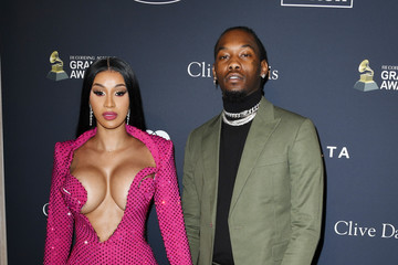 """Cardi B Pre-GRAMMY Gala and GRAMMY Salute to Industry Icons Honoring Sean """"Diddy"""" Combs - Arrivals"""