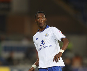 John Pantsil Cardiff City v Leicester City - Carling Cup Third Round