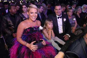Carey Hart 60th Annual GRAMMY Awards - Roaming Show